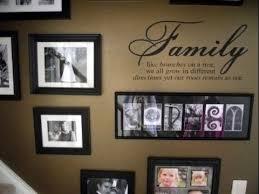 family wall decor decoration ideas