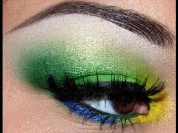 bright summer eyes using yellow green