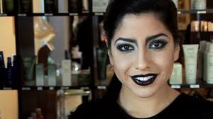 y gothic makeup tutorial with a