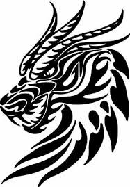 Dragon Fire Breathing Creature Fantasy Vinyl Decal Rear Window Truck Perforated 34 19 Picclick