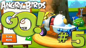 Angry Birds Go! Let's Play #6 – Tri Toaster Kart (Rocky Road ...