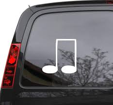 Auto Car Sticker Decal Musical Notes Music School Teacher Laptop Windo Wallstickers4you