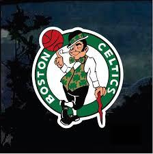 Boston Celtics Full Color Decal Sticker Custom Sticker Shop
