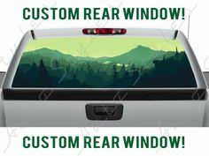 30 Truck Perforated Back Window Ideas Perforated Rear Window Mini Van