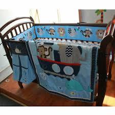 7 piece baby crib bedding set for boys
