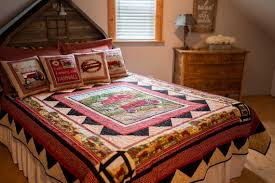 farmall ih tractor bedding set quilt