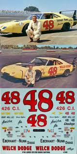 James Hylton 1969 Dodge Daytona 48 Decal 1 25 Br Span Style Color Rgb 255 0