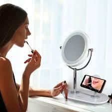 ottlite wireless charging makeup mirror