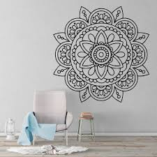 Sacred Geometric Mandala Wall Sticker Kuarki Lifestyle Solutions