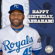 Happy Birthday to Abraham Almonte! | Royals baseball, Kansas city ...