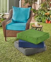 gray patio deep seat cushion