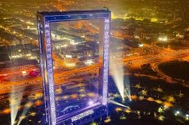 dubai frame tour with private round