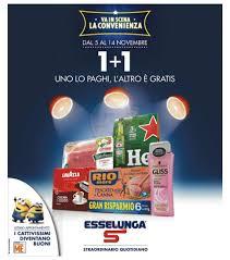Volantino Esselunga - 1+1 Uno lo paghi, l'altro � gratis ...