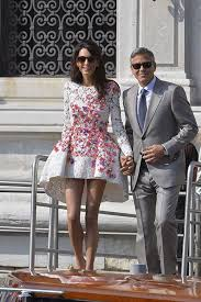 Details on George Clooney and Amal Alamuddin's Wedding   Fashion, Amal  alamuddin style, George clooney