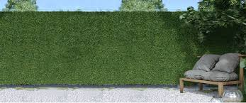 Artificial Ivy Grass Hedge Screening Privacy Screen Garden Fence Panels 3m Long Ebay