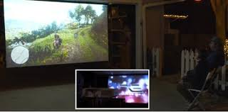 two sided portable projection screen