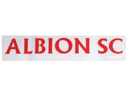 Albion Sc San Diego North Car Window Decal Blue Bright Red Capelli Sport