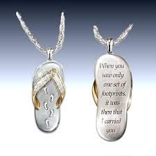 footprints in the sand jewelry slubne