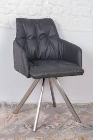 Кресло Nicolas Leon F369B/Z темно-серое поворотное купить - Nicolas