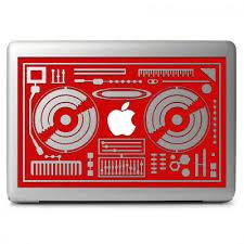 Dj Console Rmx Dj Mixers Vinyl Decal For Apple Macbook Air Macbook Pro 13 13 3 Ebay