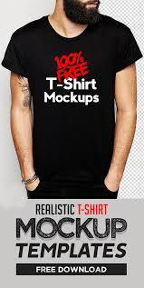 free t shirt mockup templates