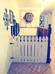 Image Result For Picket Fence Baby Gate Baby Gates Dog Gate Dog Gates For Stairs