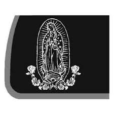 Virgin Mary Car Decal Sticker On Popscreen