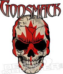 Godsmack Skull Decal Sticker Decal Max