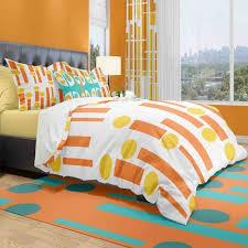 modern duvet covers mid century modern bed