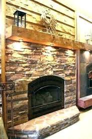 stone fireplace mantels surround ideas