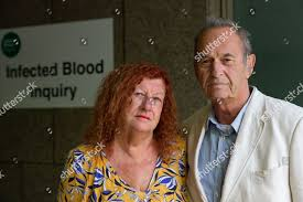 Peter Buckland his wife Eve Infected Blood Editorial Stock Photo - Stock  Image | Shutterstock
