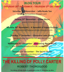 Jaffareadstoo....: *Blog Tour* - The Killing of Polly Carter by Robert  Thorogood