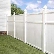 6 Ft White Vinyl Fence Vinyl Fence Panels White Vinyl Fence Vinyl Fence