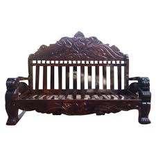 rose wood stylish wooden sofa set rs