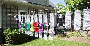 how to make a diy pulley clothesline