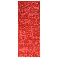 Cheap Duro Decal Permanent Adhesive Vinyl Letters Numbers 1 Gothic Red Satyavir Com