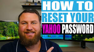 how to reset your yahoo email pword