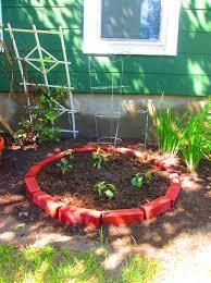 brick raised garden bed non toxic
