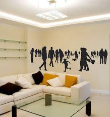 People Wall Sticker A Design That Will Beautify The Wall In Etsy