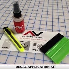 Decal Application Kit Alphavinyl