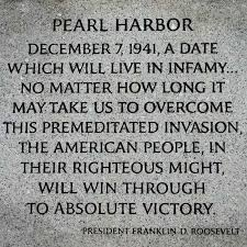 the words of pearl harbor pearl harbor