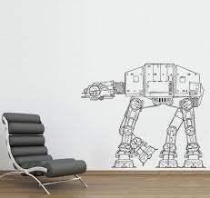 I Do Kinda Want This Star Wars Wall Decal At At Walker Star Wars Room