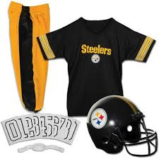 Franklin Sports Nfl Pittsburgh Steelers Youth Licensed Deluxe Uniform Set Small Walmart Com Walmart Com