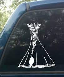 Indian Teepee Decal Decal Depot Net