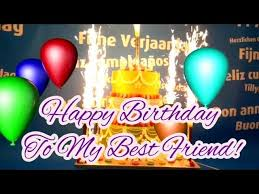 happy birthday song for my best friend