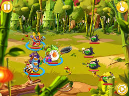 Bamboo Forest - 1 | Angry Birds Wiki