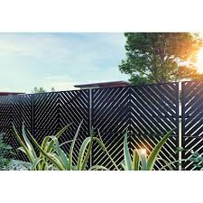 6 5 Ft H X 4 Ft W Screen Series Steel Privacy Screen In 2020 Privacy Fence Designs Fence Design Decorative Fence Panels