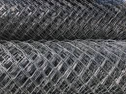 Rolled Chain Link Fence Metal Mesh Netting Rolled Into Rolls Stock Photo Picture And Royalty Free Image Image 134939424