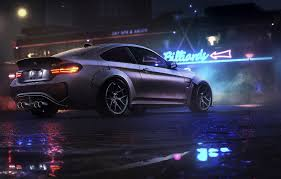wallpaper night bmw game nfs night