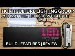 horticulture lighting group 260 watt